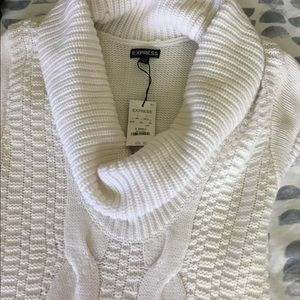 Sweater dress from Express